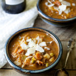 Slow Cooker Bison & Vegetable Soup
