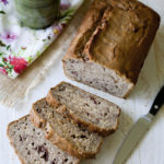 Cream Cheese Strawberry Banana Bread