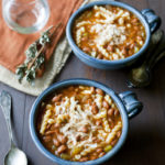 Southwest Pasta Bean Soup
