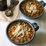 Roasted Chicken, Rice & Vegetable Soup