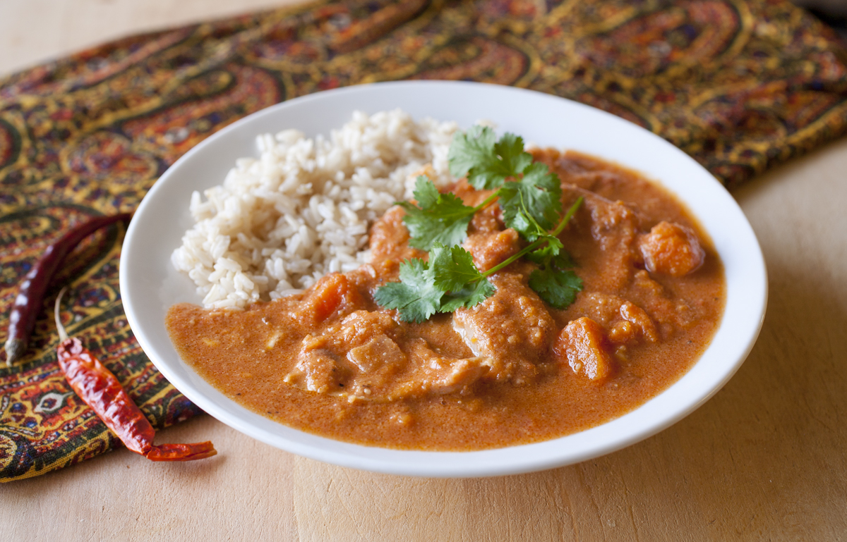 African Chicken And Peanut Stew With Yams Partial Ingredients